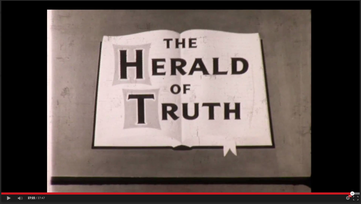 Herald of Truth Film