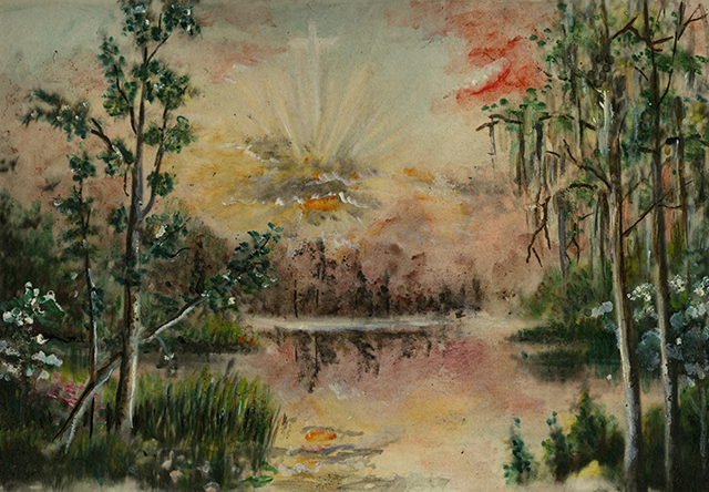 Blanche Perry Baptistry Paintings Collection