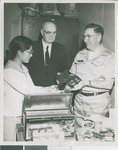 A. R. Holton Observes a Donation of Medical Equipment to a South Korean Medical Clinic, Seoul, South Korea, ca.1958-1962