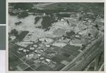 Aerial View of Ibaraki Christian College, Ibaraki, Japan, ca.1950-1960