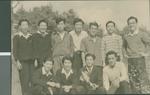 Baseball Team Photo, Ibaraki, Japan, ca.1948-1952