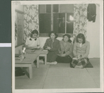 A Study Session in the Girls Dorm Part 2, Ibaraki, Japan, ca.1948-1952