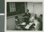 American Teachers at Ibaraki Christian Schools Learning Japanese Part 2, Ibaraki, Japan, 1953