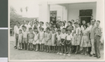 A. R. Holton with Members of the Moulmein Road Church of Christ, Singapore, 1958