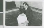 A Member of the Sao Paulo Team Baptizes a New Convert to Churches of Christ, Sao Paulo, Brazil, ca.1962-1968