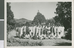 Bible School Students from the Mount Zion Bible School, Chennai, India, 1968