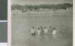 Baptism in Nuevo Laredo, Nuevo Laredo, Tamaulipas, Mexico, 1960
