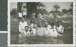 Baptisms in the River, Durango, Durango, Mexico, 1944