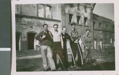 Members of the Boys Home, Frankfurt, Germany, ca.1948