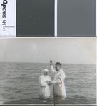 Baptism of woman