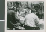 A. R. Holton and L. Haskell Chesshir with Korean Preacher Pak, Seoul, South Korea, 1957
