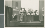 Beth Bixler with Miss Iwabuchi at a Wedding, Tokyo, Japan, 1960