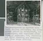 A Juju Shrine in the Nigerian Countryside, Nigeria, 1960