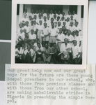 A Group of Indigenous Preachers from the School of Preaching in Nigeria, Nigeria, 1960