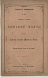 Report of Proceedings of the Seventeenth Anniversary Meeting of the American Christian Missionary Society Held in Cincinnati, October 17, 18, 19, 1865. by American Christian Missionary Society