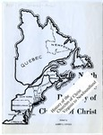 History of the Churches of Christ: Virginia to Newfoundland