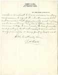 Letter From Robert H. Boll to David Lipscomb