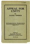 Appeal For Unity
