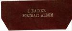 Leader Portrait Album by [F. L. Rowe: Cincinnati, Ohio]