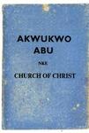Akwukwo Abu Nke Church Of Christ