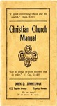 Christian Church Manual