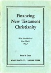 Financing New Testament Christianity