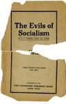 The Evils of Socialism by W.F. Lemmons