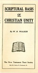 Scriptural Basis of Christian Unity