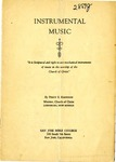 Instrumental Music by Percy E. Krewson