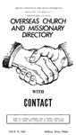 Overseas Church and Missionary Directory by Contact