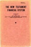 The New Testament Financial System by Don Carlos Janes