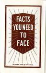 Facts You Need To Face by M. Norvel Young