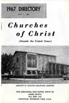 Churches of Christ (Outside the United States), 1967 Directory by James McGill
