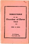 Directory of the Churches of Christ Colored
