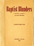 Baptist Blunders: Fourth Edition
