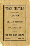 Voice Culture in Classes