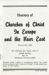 Directory of Churches of Christ in Europe and the Near East by James McGill