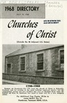 1968 Directory of Churches of Christ (Outside the 48 Adjacent U.S. States) by James McGill