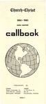 Church of Christ 1964-1965 Radio Amateur Callbook Volume 4