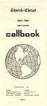 Church of Christ 1964-1965 Radio Amateur Callbook Volume 4