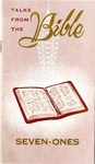 Talks From The Bible: Seven-Ones