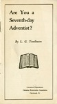Are You a Seventh-Day Adventist?