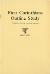 First Corinthians Outline Study