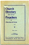 Church Directory and List of Preachers of Churches of Christ