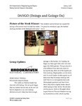 DANGO (Doings and Goings On)- Vol. 22 | Issue 3
