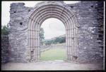 Romanesque Entrance to Church