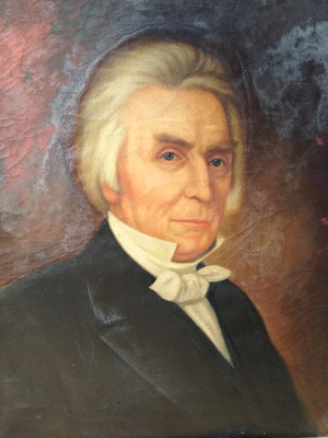 19th Century oil portrait of Alexander Campbell