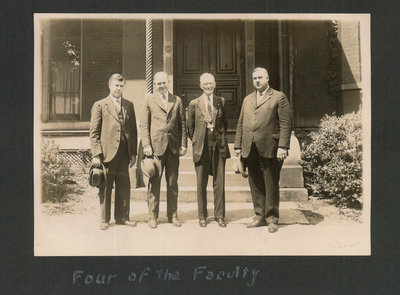 Four Members of the Faculty of Cincinnati Bible Seminary
