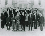 Brite College of the Bible Students and Faculty 1914 photo by Unknown