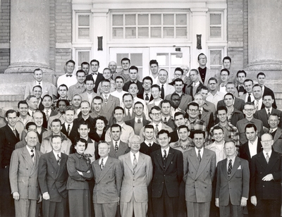Brite College of the Bible Students and Faculty 1952 Photo